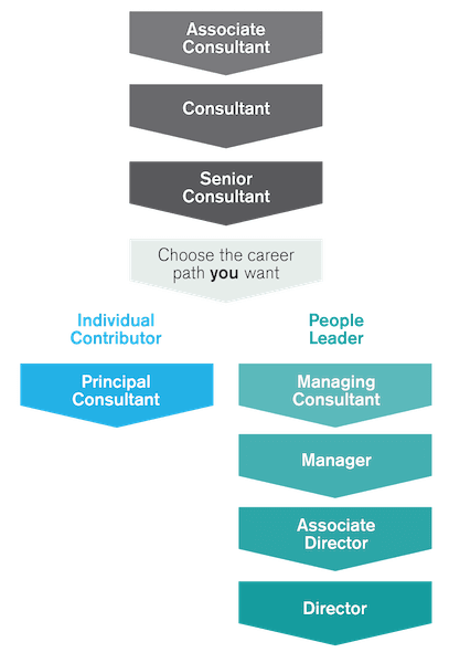 Career path in recruitment