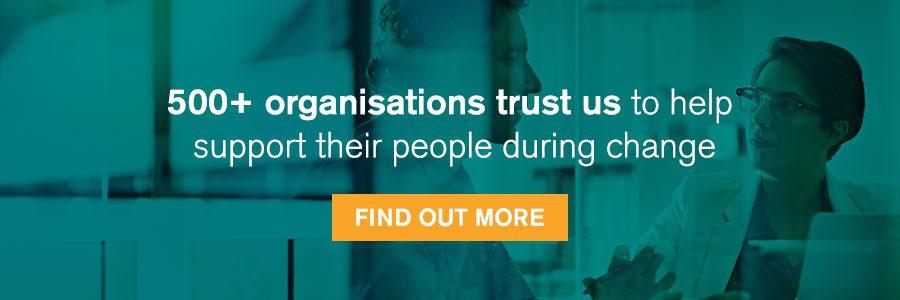500 plus organisations trust Hudson