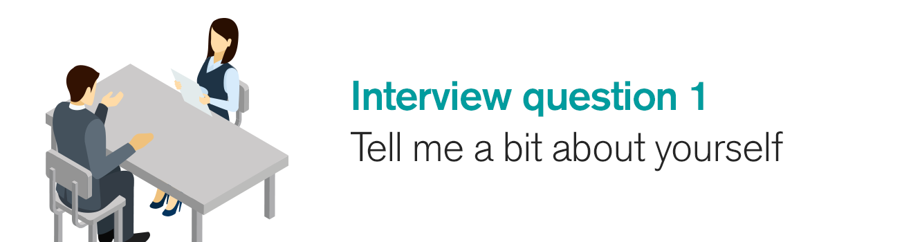 Interview question 1: Tell me a bit about yourself