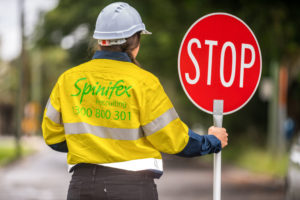 Traffic Control image - spinifex-applyflow