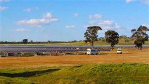 renewable energy - solar farm project