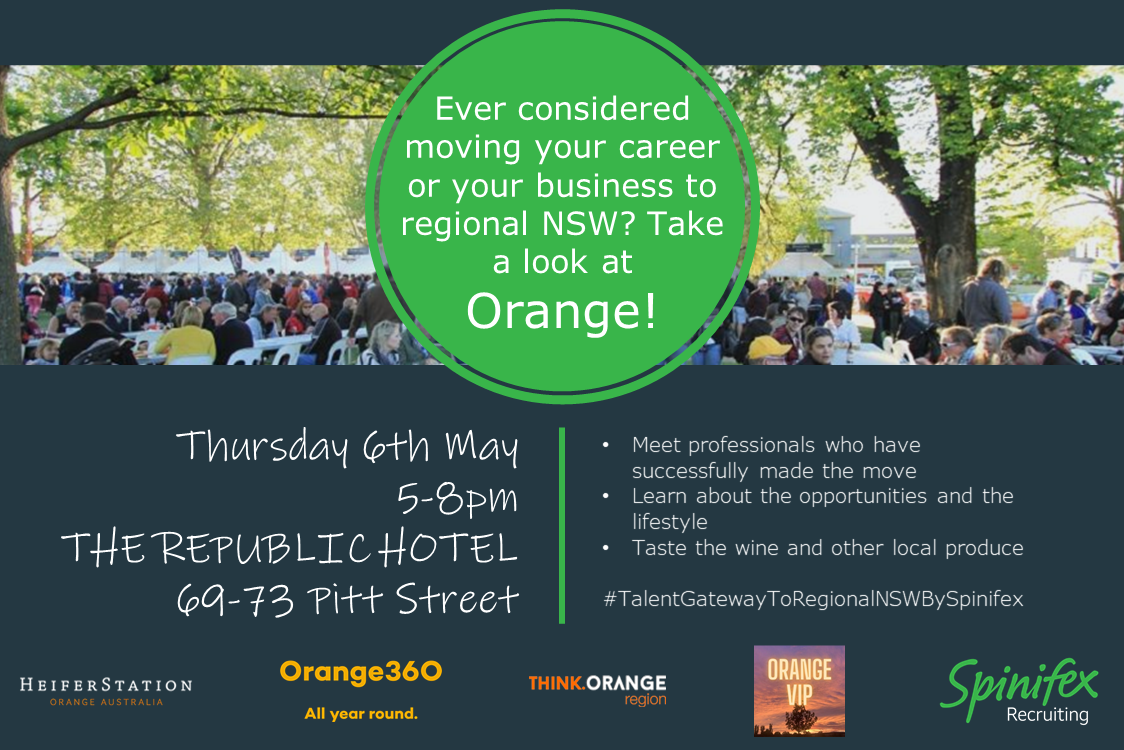 Orange NSW event 6 May 2021